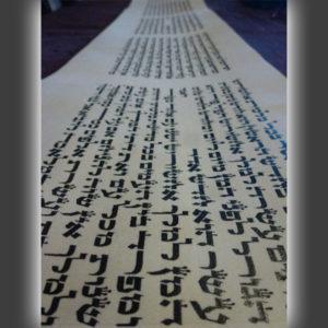 מגילת אסתר 21 שורות